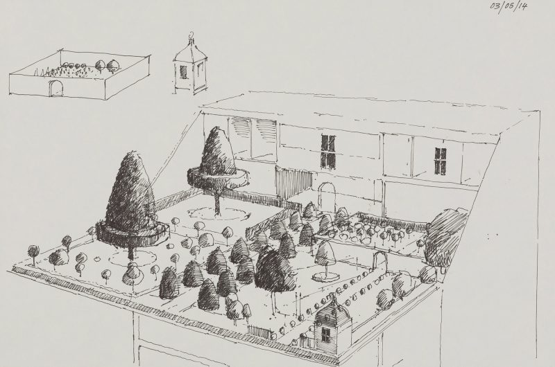 <p>Bureau of Grand Designs I, ink, 20 30cm</p>