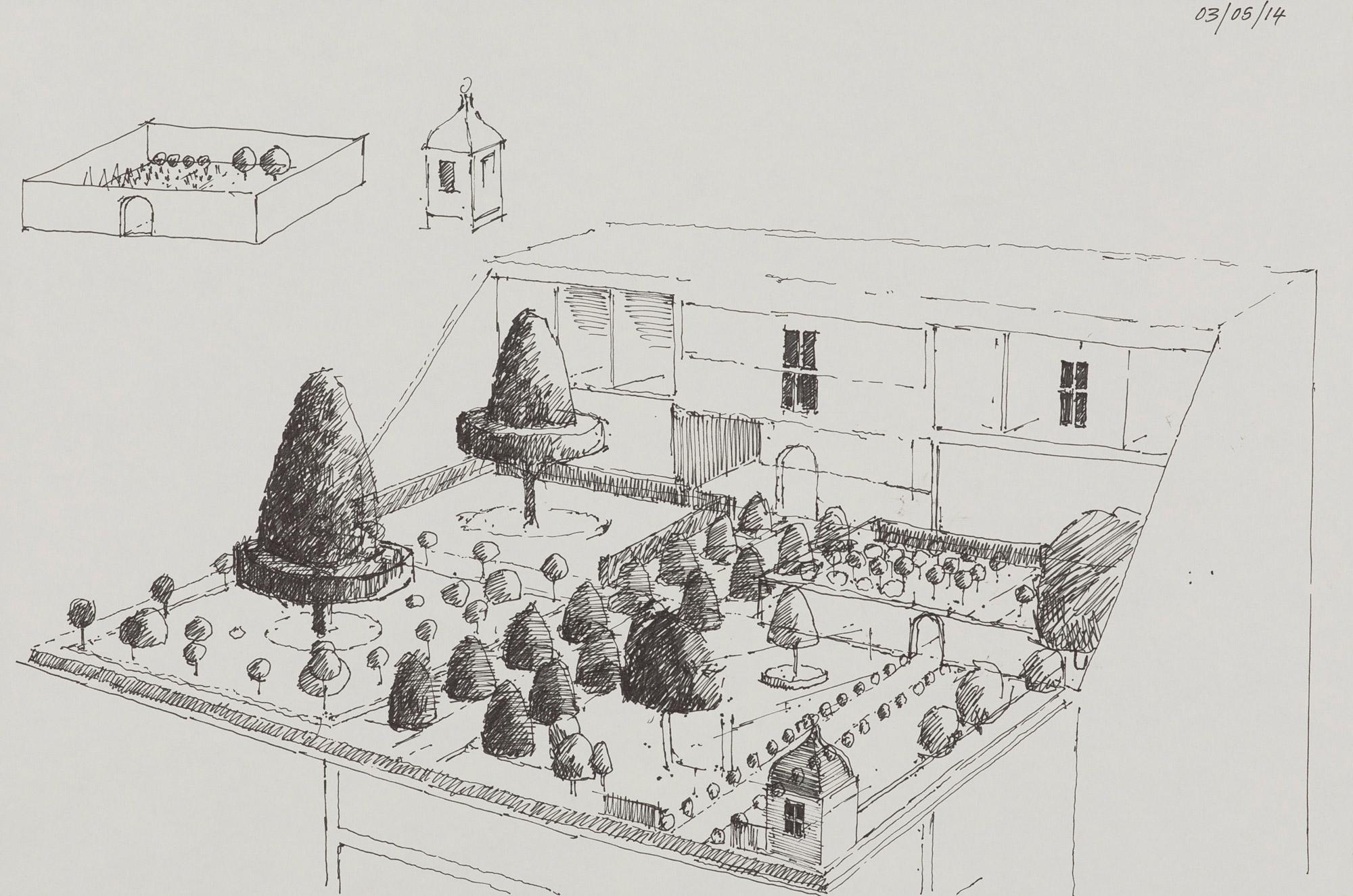 Drawings paul brason for Grand bureau
