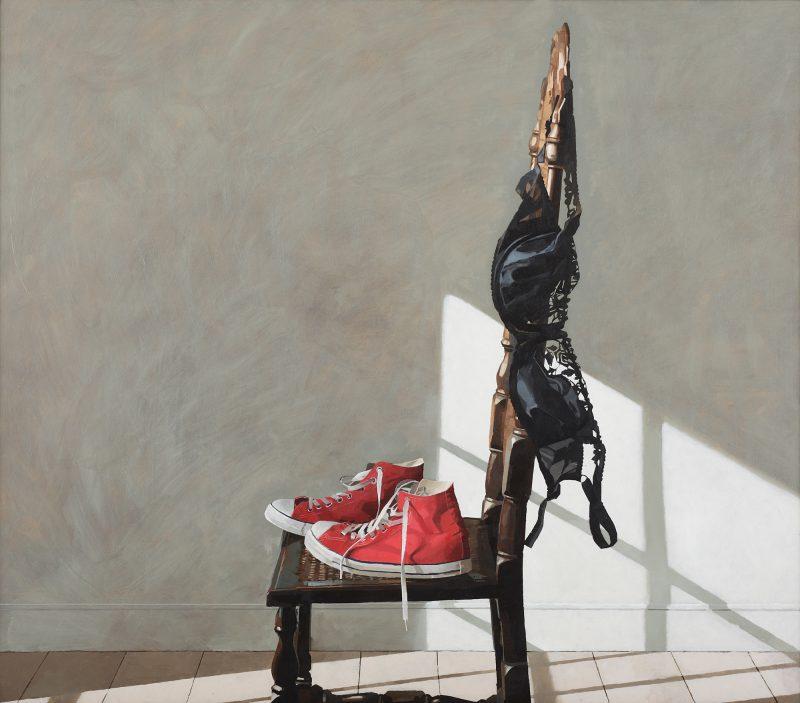Converse, oil, 122 x 152cm