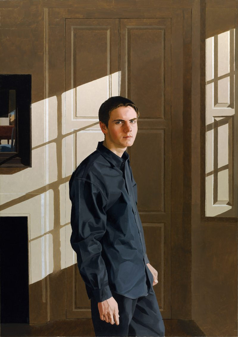 <p>Eighteen, oil, 152 x 107cm, 2004</p>