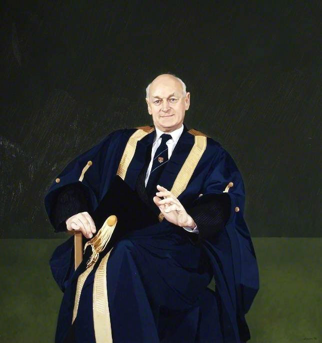<p>Ewan Page, Chancellor, Reading University, oil, 183 x 152cm</p>