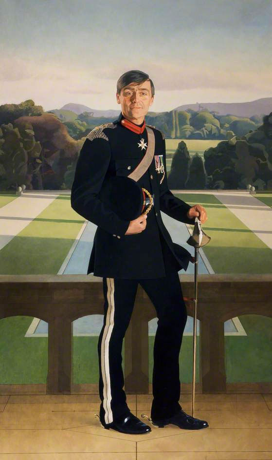 <p>Gerald, Duke of Westminster, oil, 244 x 122cm</p>