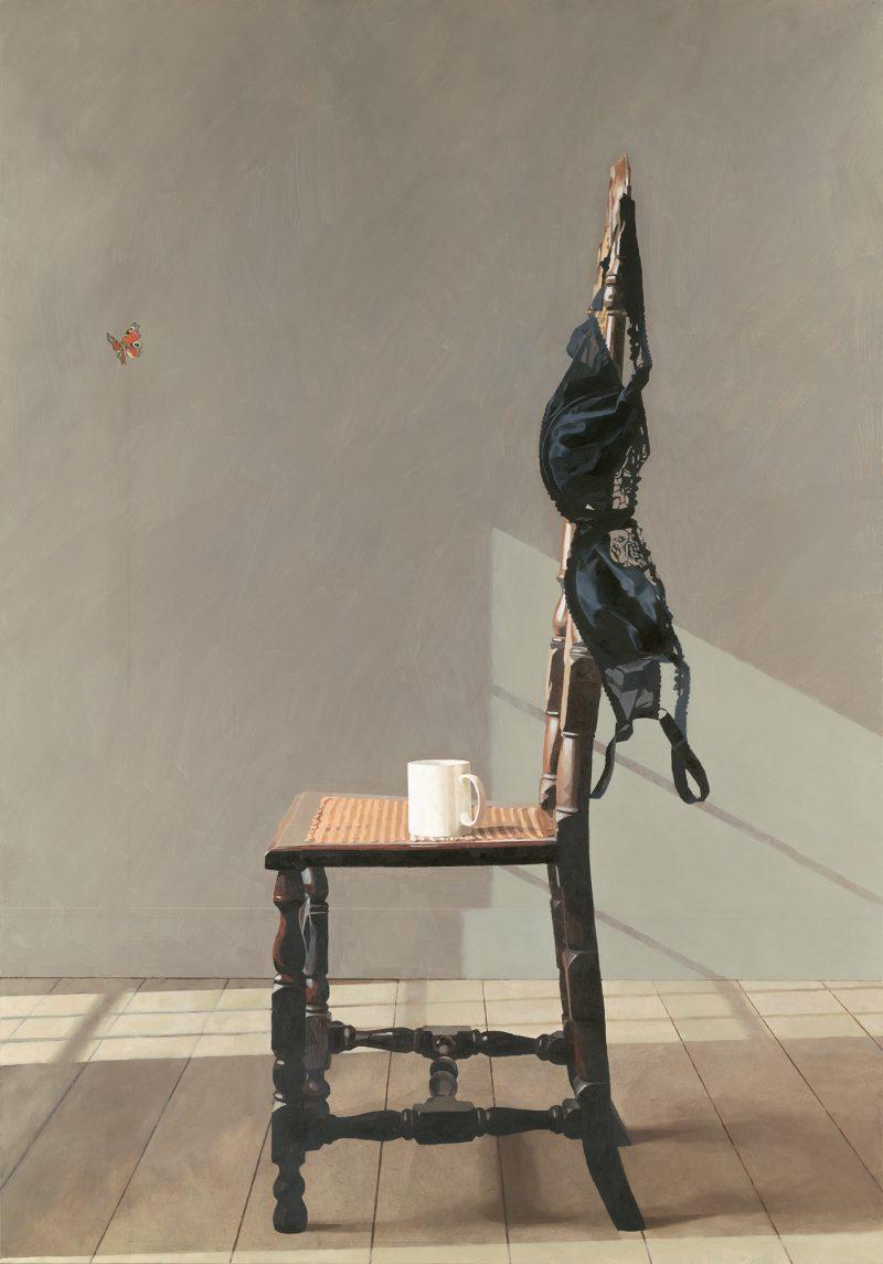 Ghost, oil, 153 x 107cm