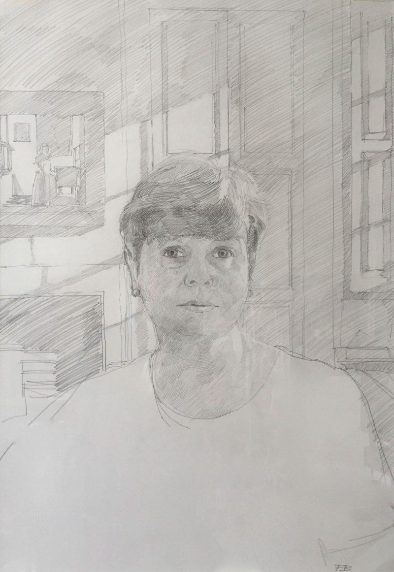 <p>Judy, Pencil, 60 x 42cm</p>