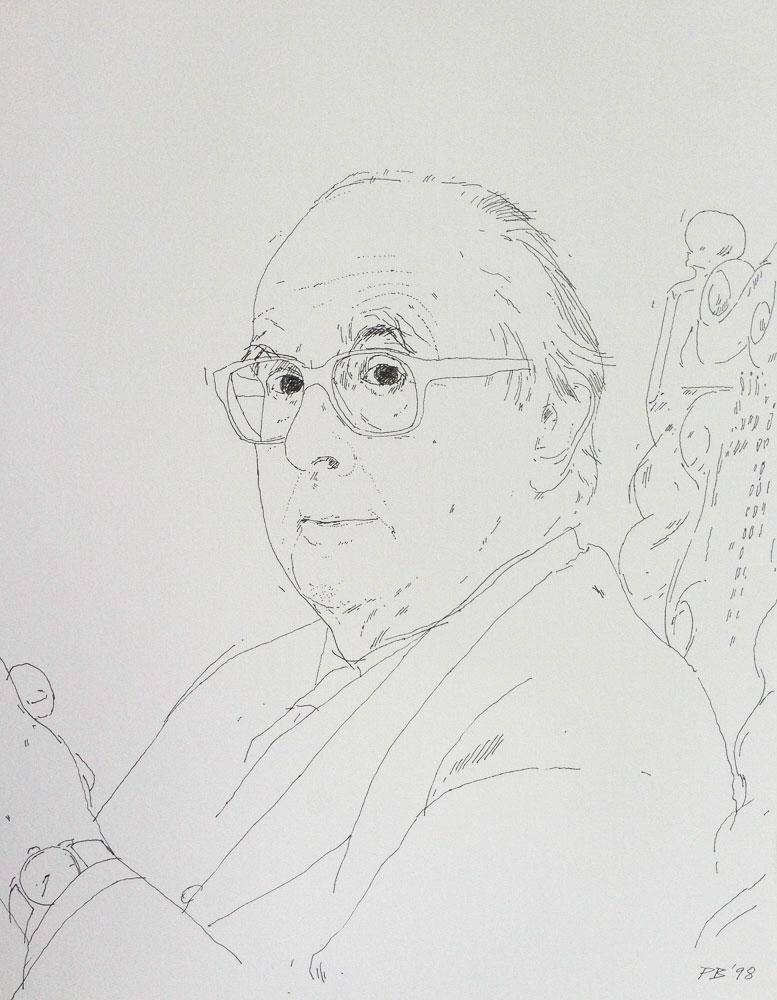 <p>Julian Wathen, ink, 30 x 25cm</p>
