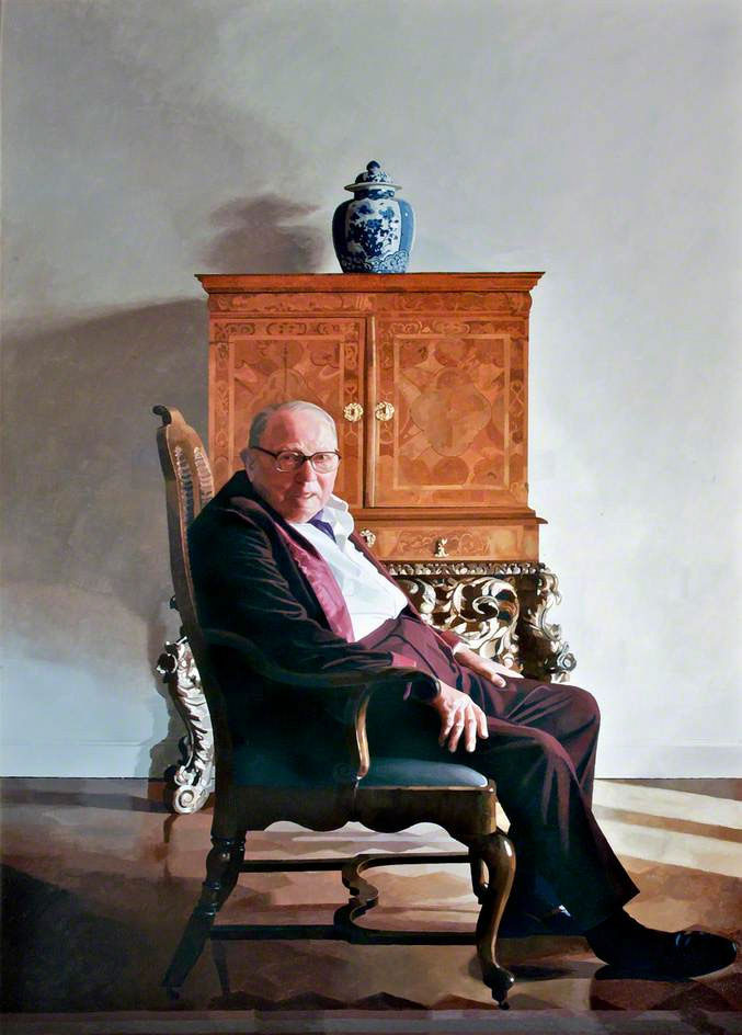 <p>Lord Leverhulme, oil, 183 x 100cm</p>