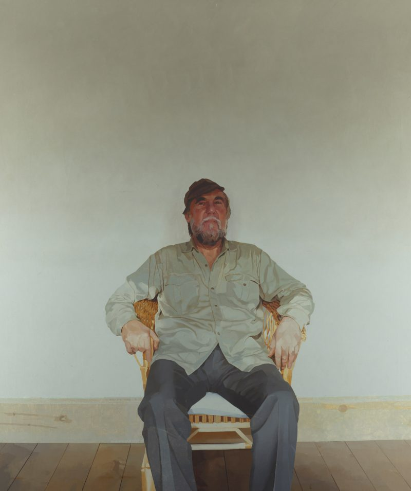 <p>My Father, oil,183 x 152cm</p>