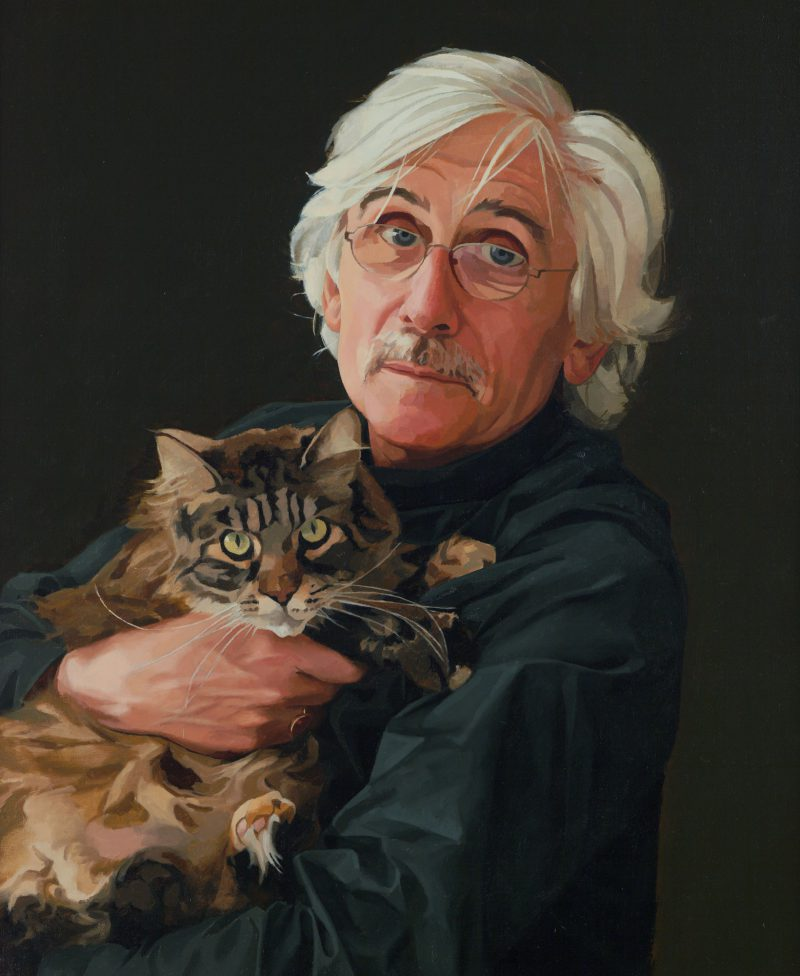 <p>Roy and Lettice, oil, 76 x 50cm</p>