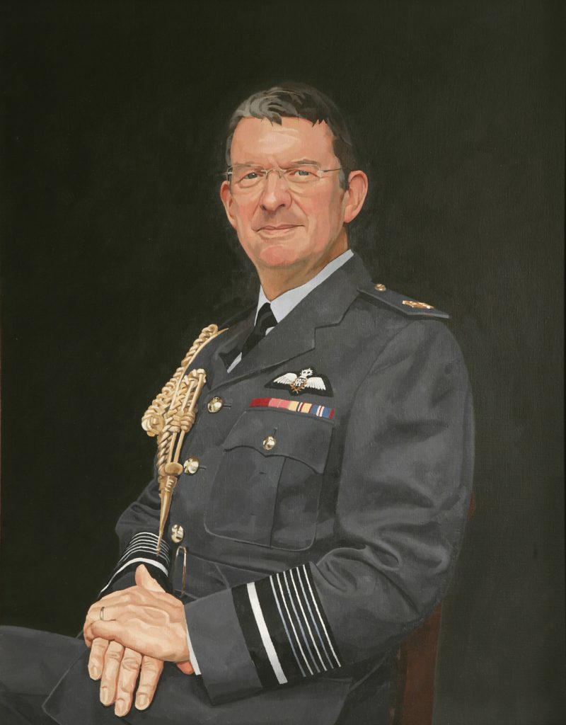 <p>Sir Brian Burridge, oil , 91 x 71cm, 2005</p>