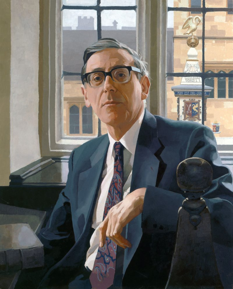 <p>Sir Keith Thomas, oil, 91 x 71cm</p>