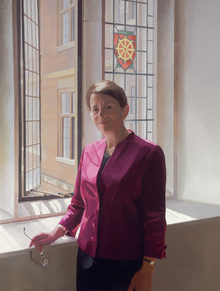 <p>Dame Jean Thomas, oil, 122 x 91cm, 2011</p>