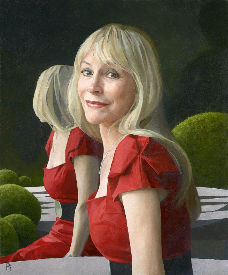 <p>Dr Christine Facer-Hoffman, oil, 61 x 46cm, 2011</p>