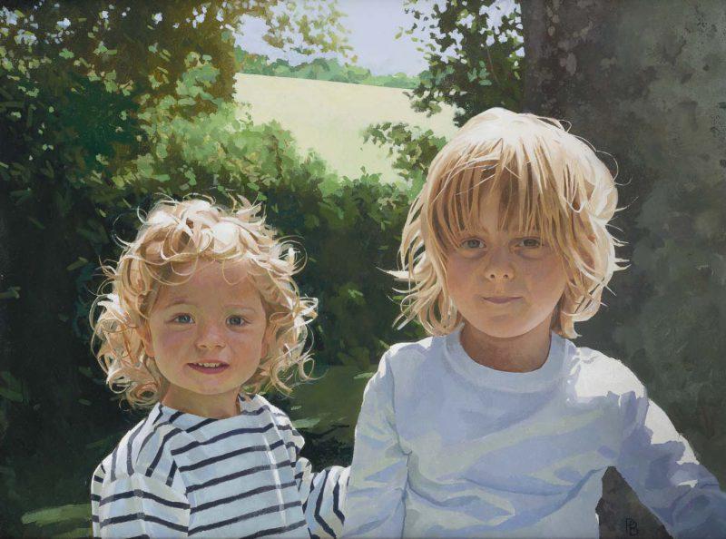 <p>Felix and Lucien, oil, 51 x 61cm</p>