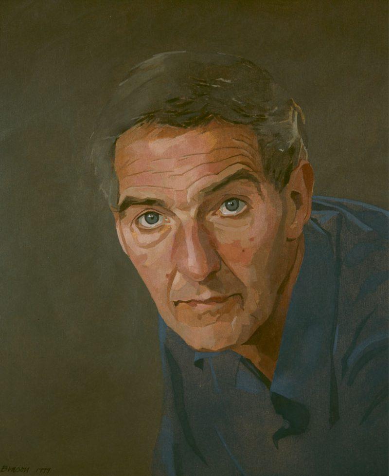 <p>Gerald Ball, oil, 31 x 25cm</p>