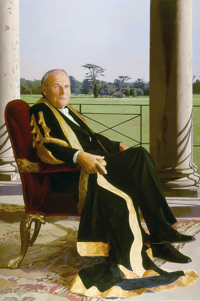 <p>His Grace the Duke of Richmond, oil, 152 x 107cm</p>
