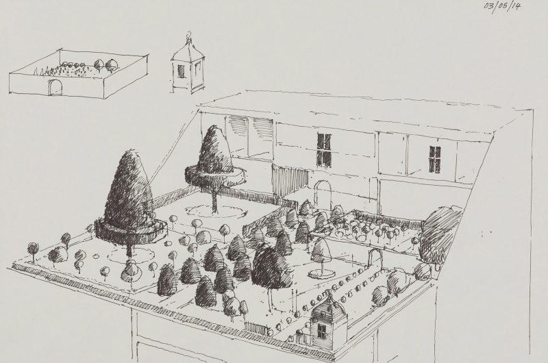 <p>Bureau of Grand Designs I, ink, 20 30cm</p>