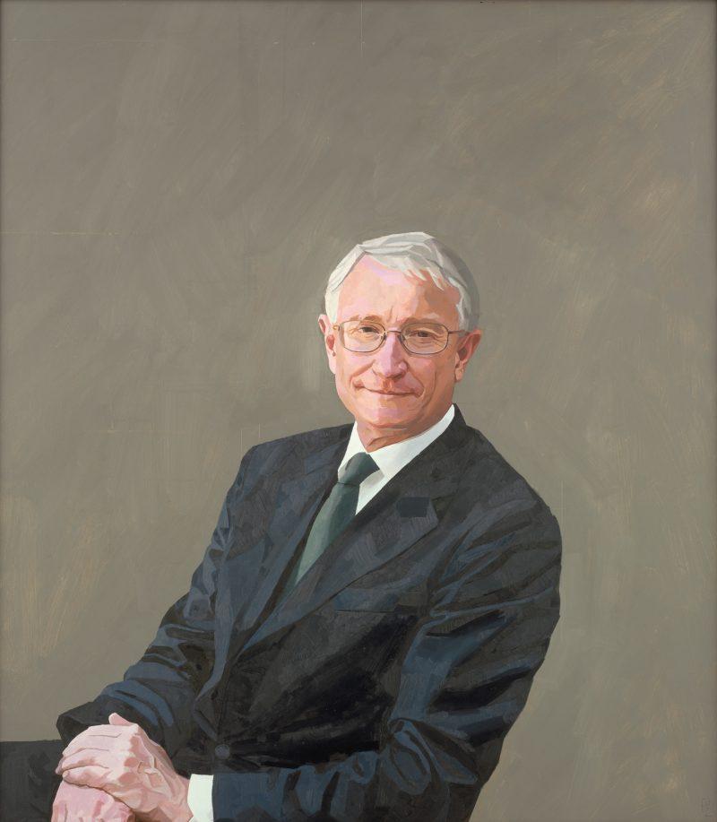 <p>Dr John Hood, oil, 91 x 71cm, 2010</p>