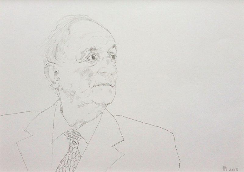 <p>Glynn, pencil, 30 x 40cm</p>