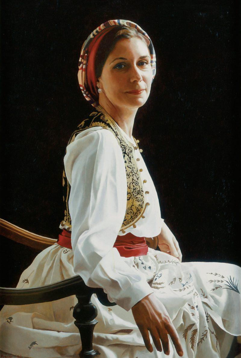 <p>Lady John Scott, oil, 91 x 71cm</p>