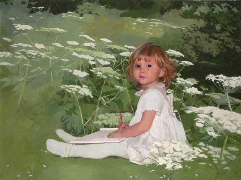 <p>Romy, oil on canvas, 76 x 102cm, 2010</p>
