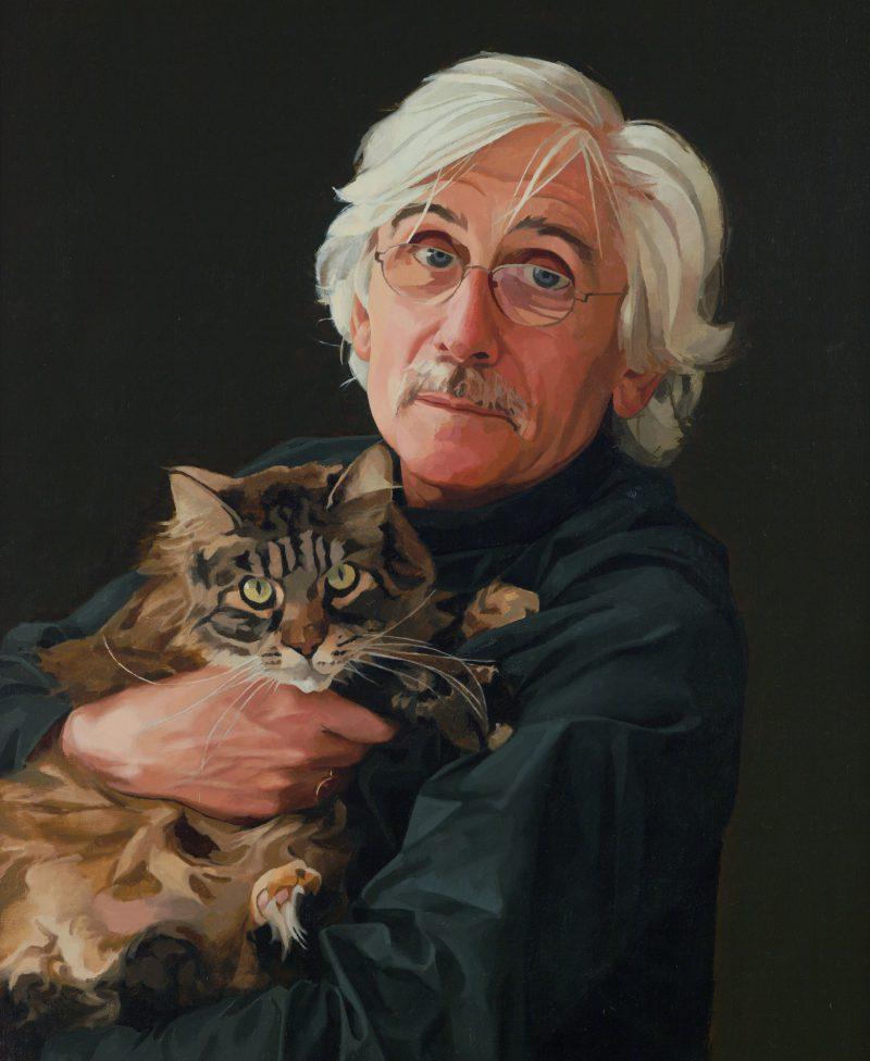 <p>Roy and Lettice, oil, 76 x 50cm</p>