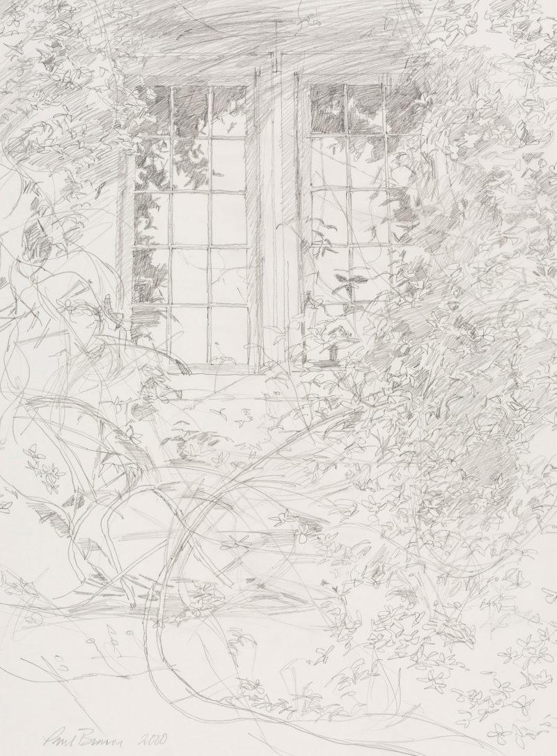 <p>Studio Window, pencil, 40 x 30cm</p>