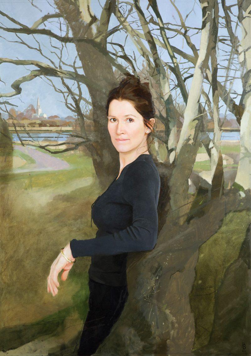 <p>Susie Wells, oil, 91 x 122 cm, 2011</p>