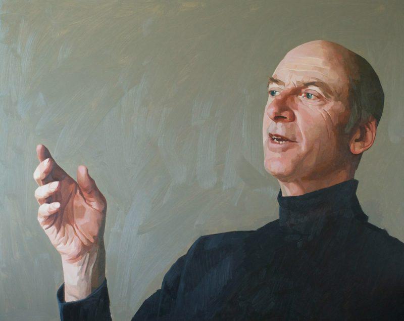<p>Will, Part of a Bigger Conversation, oil, 122 x 154cm, 2012</p>